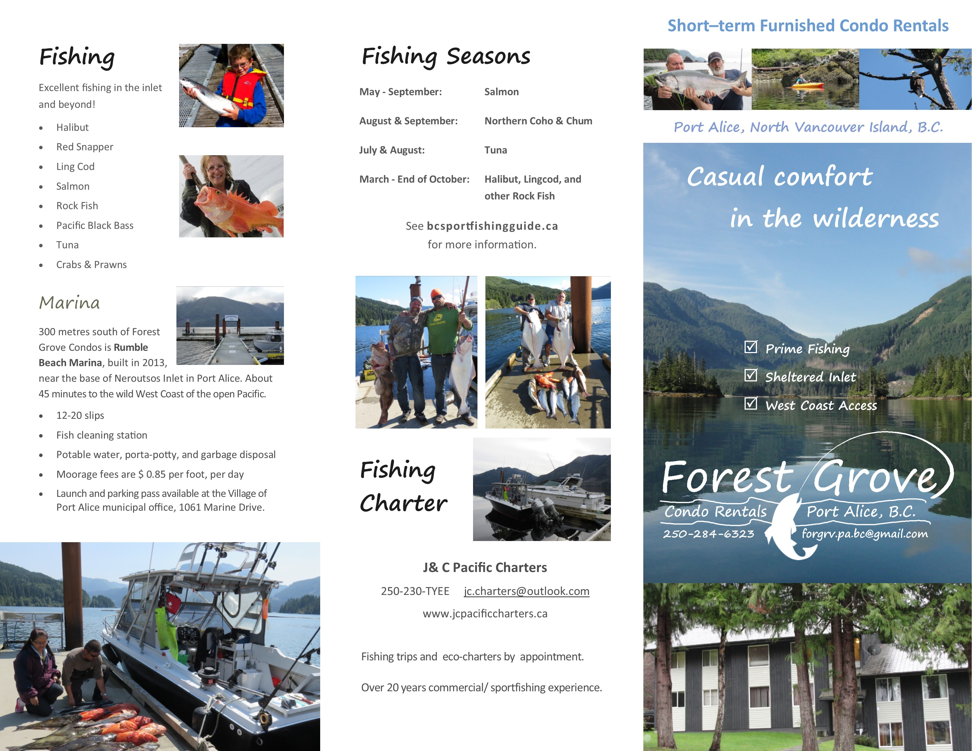 Forest Grove Brochure Outside