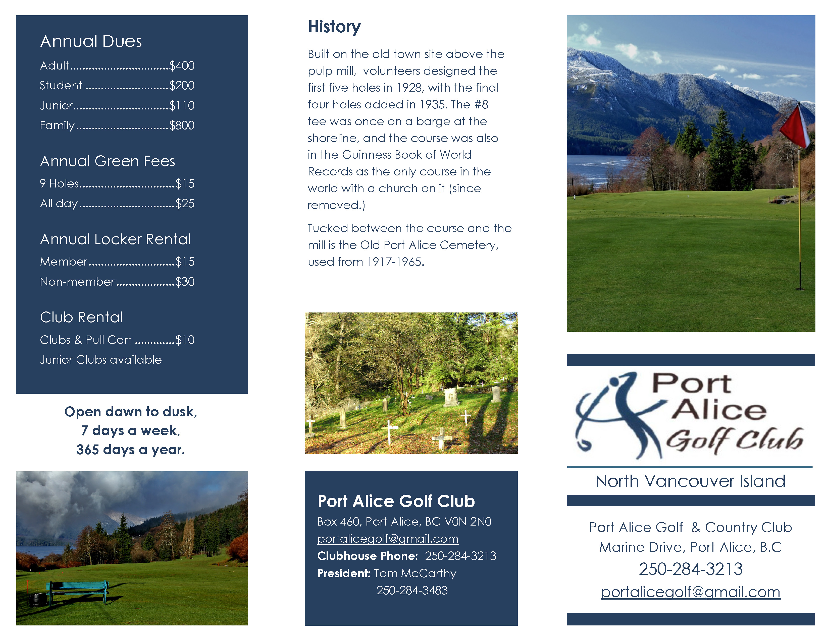 Port Alice Golf Club Brochure May 24, 2016_Page_1