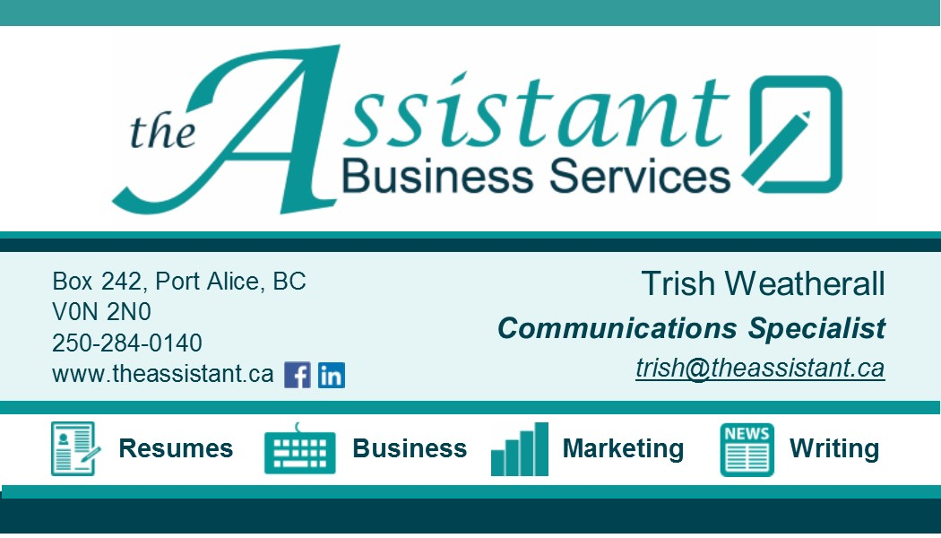 The Assistant Business Card - 2015-09-07